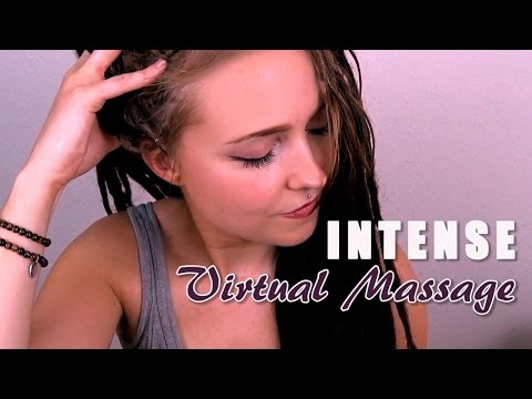 *INTENSE ASMR* Virtual Scalp & Back Massage w/ In-Ear Mics
