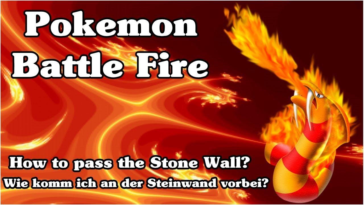 Pokemon Battle Fire