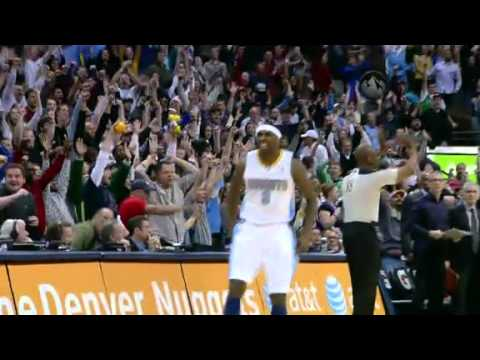 Ty Lawson's Clutch Game-winner @ Denver Nuggets 5/3/12