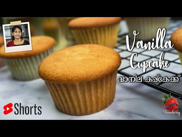 Cupcake Recipe | #shorts | Vanilla Cupcake Recipe | Bakery Style Cupcake | Cupcake Recipe Malayalam