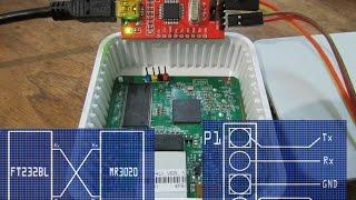 прошивка роутера TP link MR3020 по UART, OpenWRT