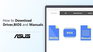 How To Search Driver,BIOS And Manuals?   ASUS SUPPORT