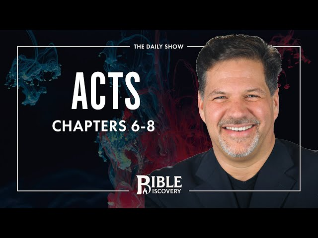 The History of Israel | Acts 6-8