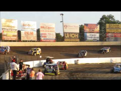 I 55 Raceway 7 18 2015 A Mod Heat Race #1 Dave Armstrong #34