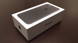 Unboxing: iPhone 7 (256GB)