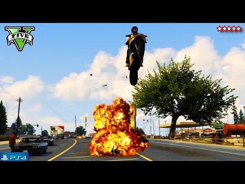GTA 5 Next Gen: Epic BIKE STUNTS & JUMPS! - GTA 5 Online LIVE w/ Stream Team