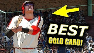 THE BEST GOLD CARD IN THE GAME?! MLB THE SHOW 18 BATTLE ROYALE