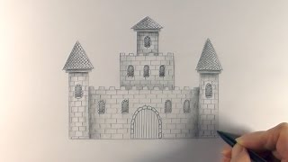 R.E.A.P: Concept Art: How to Draw a Castle