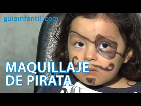 Worksheet. Maquillaje de fantasa de pirata  YouTube
