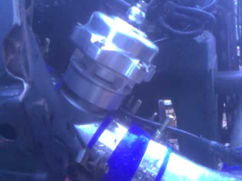 Supercharged Mustang BOV operation