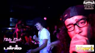 "LMFAO performing ""Shooting Star"" LIVE!"