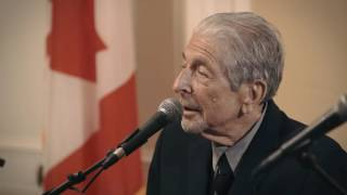 Leonard Cohen Discusses His Family