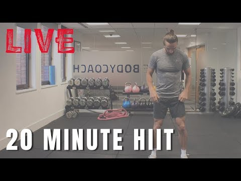 Saturday Morning Live Workout With The Body Coach