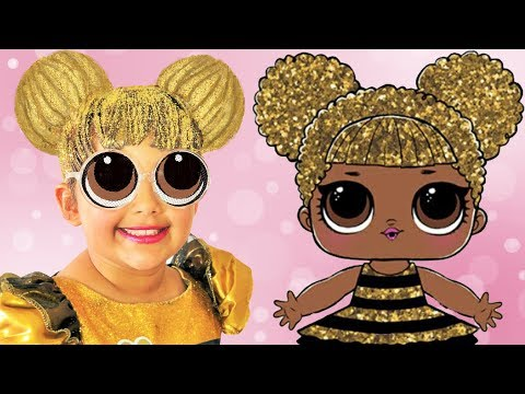 LOL Surprise Queen Bee | Makeup Halloween Costumes and Toys