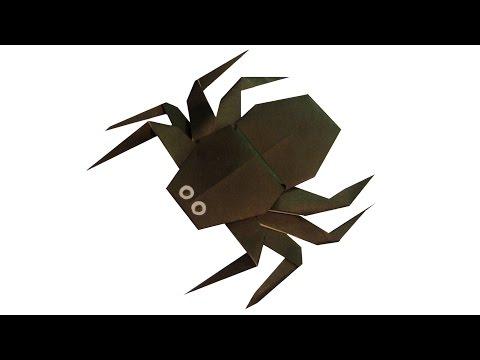Паук оригами juravliki.ru