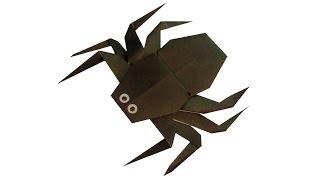 Паук оригами juravliki.ru(Купить бумагу для оригами: http://juravliki.ru/kupit-bumagu-dlya-origami Смотреть схему сборки оригами паука: http://juravliki.ru/nasekomye/pauk., 2015-09-30T04:49:59.000Z)