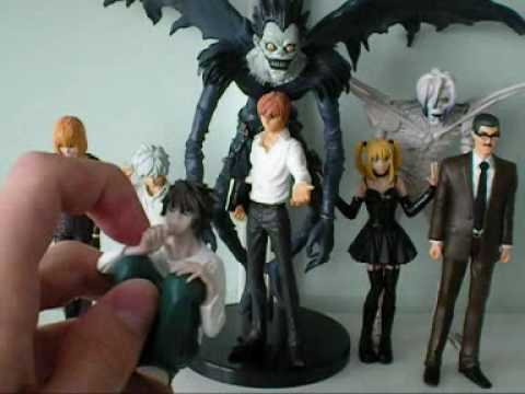 L & Ryuk from Death Note Anime Figures - YouTube