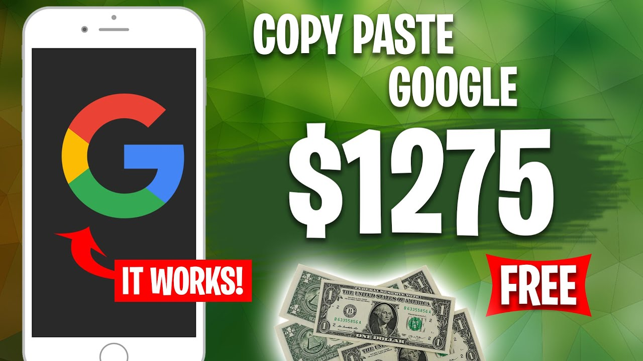 Earn $1275 From Google Copy & Paste | Make Money Online