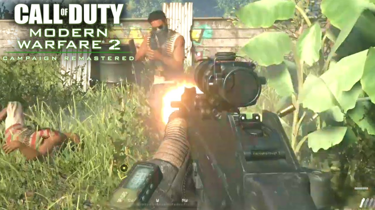 Modern Warfare 2 Campaign Remastered The Hornet S Nest Gameplay