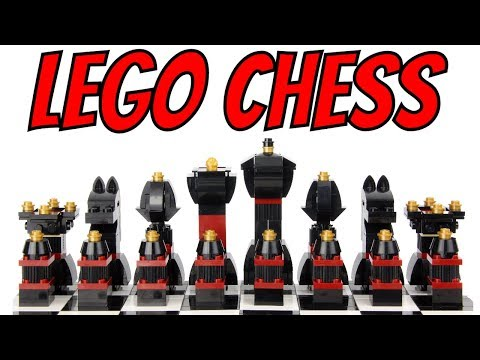2017 LEGO Chess - Unboxing, Speed Build & Review - 40174