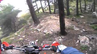 valle di erice enduro motocavalcata salemi