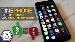PinePhone - Erster Eindruck vom Linux Smartphone! | #pinephone #linux #smartphone