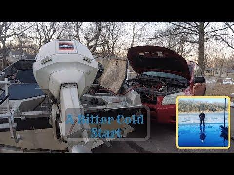 Ice Fishing Kansas Boat Slips (Thin Ice)