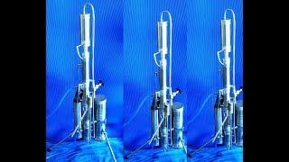 Hепрерывное производство технического спирта.(http://www.ferromit.com Испытания нового аппарата непрерывного типа для производства технического спирта., 2014-11-16T01:37:49.000Z)