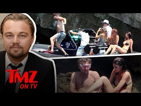 Leonardo DiCaprio Goes Snorkeling with Super Hot Girlfriend  TMZ TV