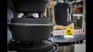 Folge 169 - Wie benutze reinige und lagere ich einen Dutch Oven Deutsches Tutorial