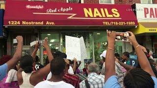 Brooklyn: Nail Salon Protest