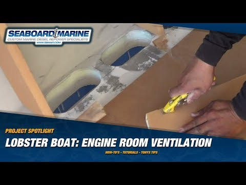 Project Spotlight: Lobster Boat Engine Room Ventilation