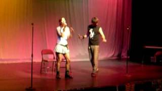 """Open Your Heart"" Glee Samantha and Ken- ACT Summer Camp 2010"