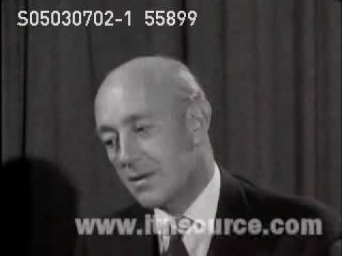 Alec Guinness interview clip 1959