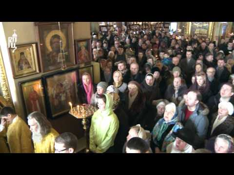 Святейший Патриарх Кирилл почтил память приснопамятного Святейшего Патриарха Алексия II