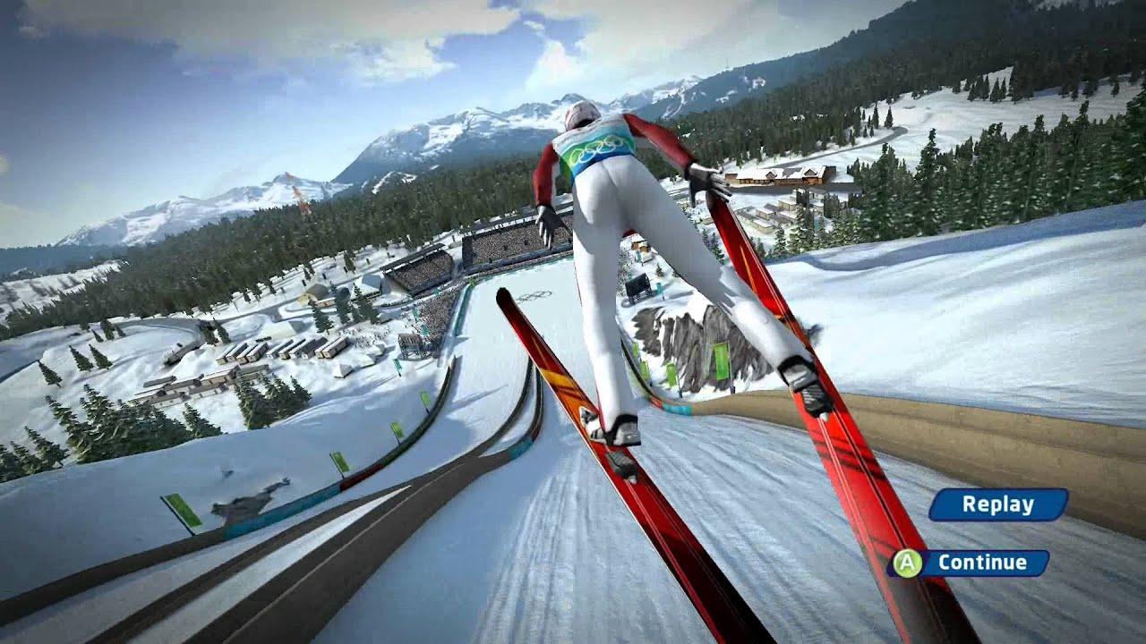 ski jumping games