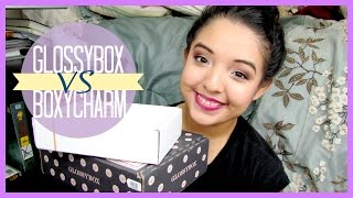 UNBOXING ♡ Glossybox Vs. Boxycharm (October 2014) Thumbnail