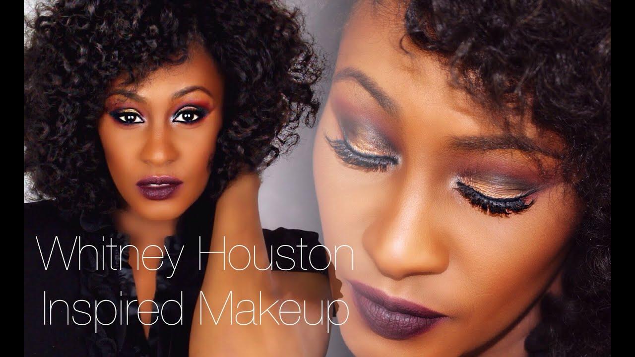 GRWM: Whitney Houston Inspired Makeup - YouTube