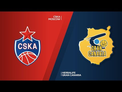 CSKA Moscow - Herbalife Gran Canaria Highlights | Turkish Airlines EuroLeague RS Round 23 thumbnail