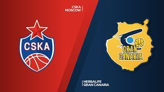 CSKA Moscow - Herbalife Gran Canaria Highlights | Turkish Airlines EuroLeague RS Round 23