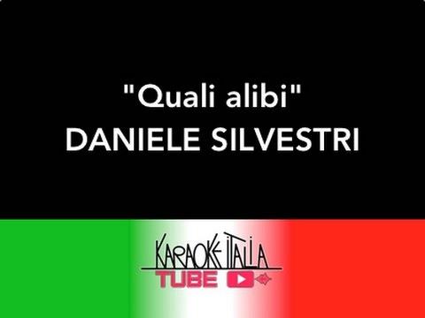 KARAOKE ITALIA TUBE - DANIELE SILVESTRI - QUALI ALIBI - VIDEO KARAOKE - BASE MUSICALE - INSTRUMENTAL