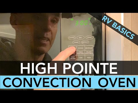 R-Pod RV High Pointe Convection/Microwave Oven Basics