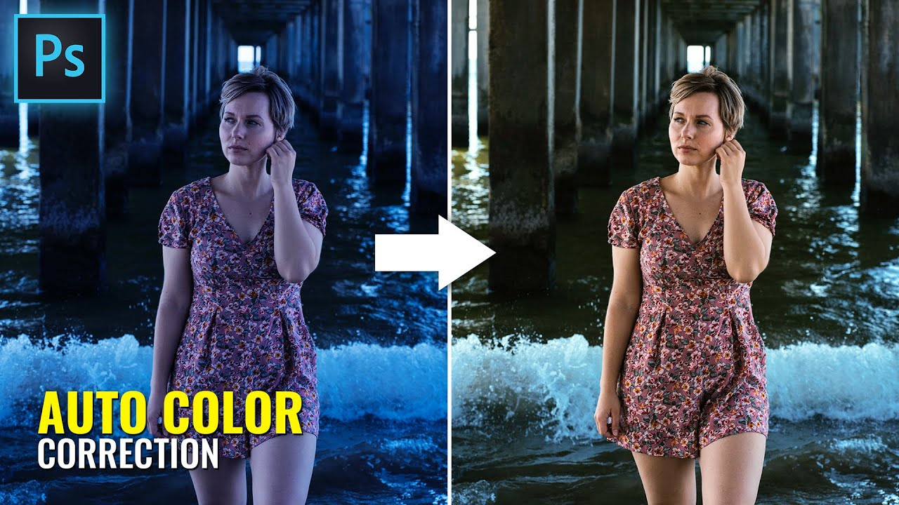 Use This Tool To Color Correction and Fix White Balance in Photoshop | Photoshop Tutorial (Easy)