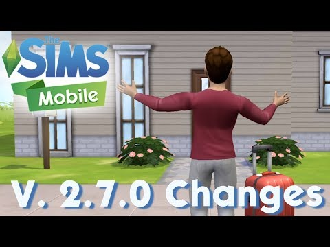What's New in The Sims Mobile v. 2.7.0 Update