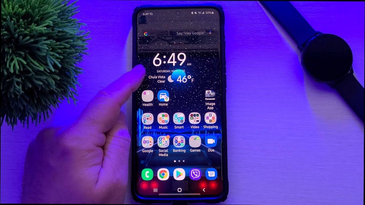 Samsung Galaxy S20 Ultra Home Screen Setup Widgets Apps Wallpaper Youtube