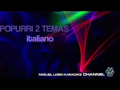 POTPOURRI  ITALIANO - VOLARE - L'ITALIANO VERO (TECHNO)