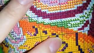 Обзор наборов для вышивки, 5 наборов на канве с рисунком