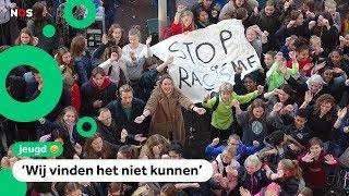 Jongeren komen in actie tegen racisme na FC Den Bosch vs. Excelsior