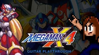 Mega Man X4 Guitar Playthrough (Zero version) [COMPLETE]