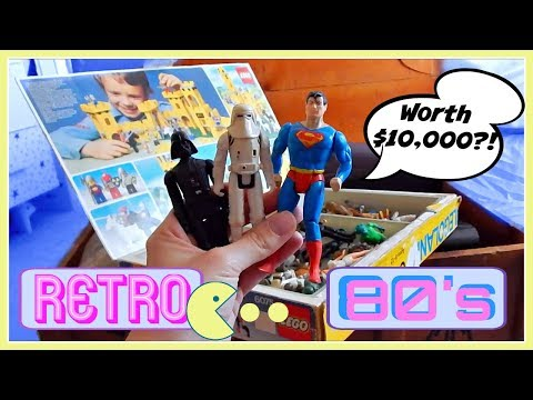 INSANE 1980s Time Capsule!! | Possibly Worth $10,000?!
